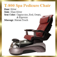 T-SPA.     T-800-HT SPA PEDICURE CHAIR