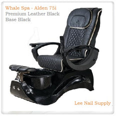 Whale Spa - Alden 75i -Pedicure Spa Chair With Premium Leather