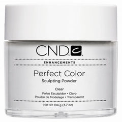 Acrylic Powder - CND Perfect Color Sculpting Powder Clear