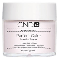 Acrylic Powder - CND Perfect Color Sculpting Powder Intense Pink - Sheer