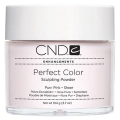 Acrylic Powder - CND Perfect Color Sculpting Powder Pure Pink - Sheer