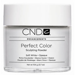 Acrylic Powder - CND Perfect Color Sculpting Powder Soft White - Opaque