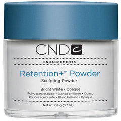 Acrylic Powder - CND Retention Powders Bright White - Opaque