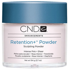 Acrylic Powder - CND Retention Powders Intense Pink - Sheer