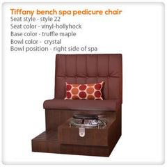 Bench Spa Chairs - Gulfstream - Tiffany Bench - Pedicure Spa Chair