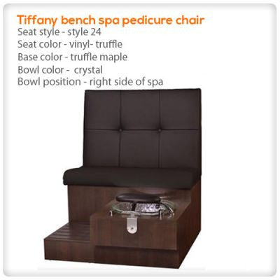 Gulfstream - Tiffany Bench - Pedicure Spa Chair