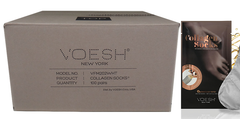VOESH CASE/100 PAIRS - COLLAGEN SOCKS WITH ARGAN OIL + ALOE EXTRACT