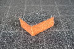 Disposable Buffers - Dixon- Mini Orange Buffer Black Grit