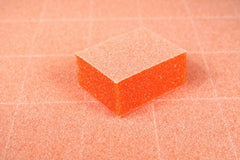 Disposable Buffers - Dixon- Mini Orange Buffer White Grit