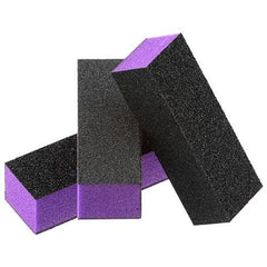 Disposable Buffers - Dixon- Purple Buffer Black Grit Premium 3-Way