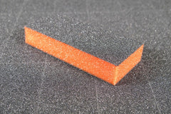 Disposable Buffers - Dixon- Slim Orange Buffer Black Grit