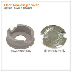 Drain Pumps, Spa Jets & Parts - Clean Pipeless Jet Cover