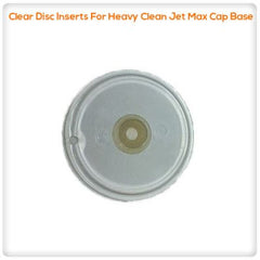 Drain Pumps, Spa Jets & Parts - Clear Disc Inserts For Heavy Clean Jet Max Cap Base