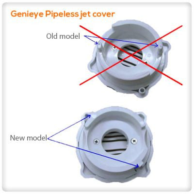 Genieye Pipeless jet cover