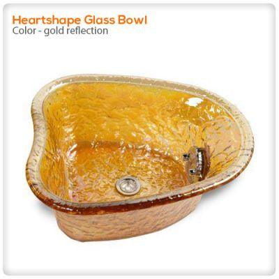 Gulfstream - Heartshape Glass Bowl