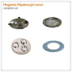 Drain Pumps, Spa Jets & Parts - Magnetic Pipeless Jet Cover