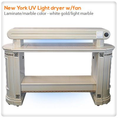 New York UV Light dryer w/ fan