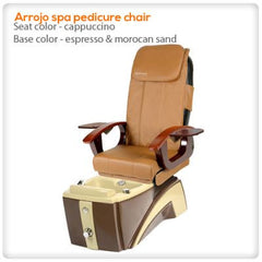 Fiberglass Spas - Arrojo Spa Pedicure Chair
