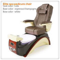 Fiberglass Spas - Elite Spa Pedicure Chair