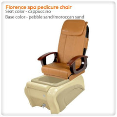 Fiberglass Spas - Florence Spa Pedicure Chair