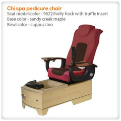 Fiberglass Spas - Gulfstream - Chi Pedicure Spa Chair
