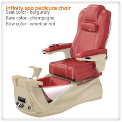 Fiberglass Spas - Infinity Spa Pedicure Chair