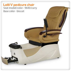 Fiberglass Spas - Lalili V Pedicure Chair