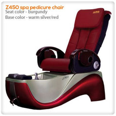 Fiberglass Spas - LC - Z450 - Pedicure Spa Chair