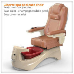 Fiberglass Spas - Liberte Spa Pedicure Chair