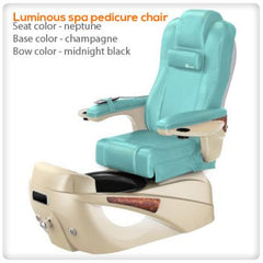 Fiberglass Spas - Luminous Spa Pedicure Chair