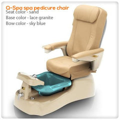 Fiberglass Spas - Q Spa Pedicure Chair