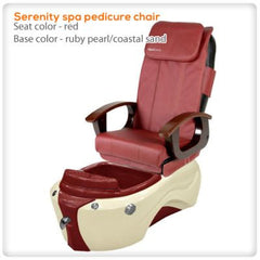Fiberglass Spas - Serenity Spa Pedicure Chair