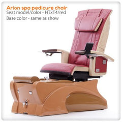 Fiberglass Spas - T4 - Arion Spa Pedicure Chair With HTxT4