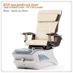 Fiberglass Spas - T4-EOS Spa Pedicure Chair With HT138