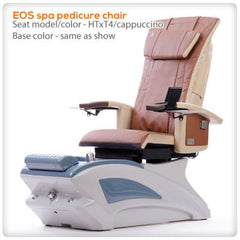 Fiberglass Spas - T4-EOS Spa Pedicure Chair With HTxT4