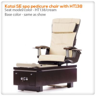 t4-Katai SE spa pedicure chair with HT138