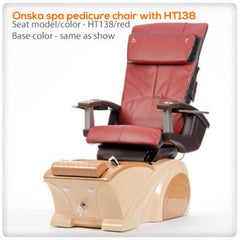 Fiberglass Spas - T4-Onska Spa Pedicure Chair With HT138