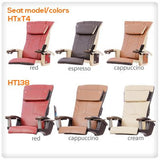 t4-Panther SE spa pedicure chair with HT138