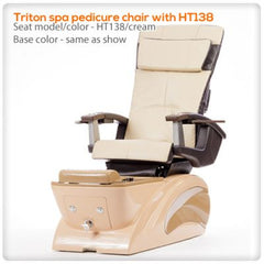 Fiberglass Spas - T4-Triton Spa Pedicure Chair With HT138