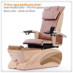 Fiberglass Spas - T4-Triton Spa Pedicure Chair With HTxT4
