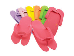 Foam Slippers / Toe Separators - Lns - Pedicure Slippers - Premium