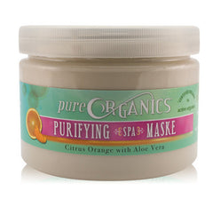 Foot Mud / Mask - Pure Organics - Foot Mask - Citrus Orange With Aloe Vera