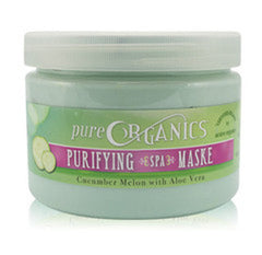 Foot Mud / Mask - Pure Organics - Foot Mask - Cucumber Melon With Aloe Vera