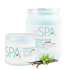 Foot Mud / Mask - Spearmint + Vanilla Moisture Mask 64 Oz.