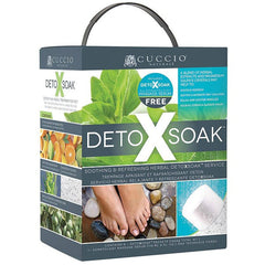 Foot Treatments - Cuccio Naturale DetoXSoak Herbal Foot Service Kit