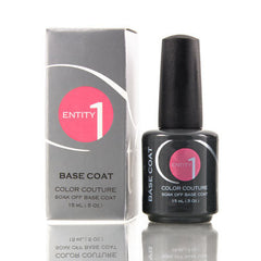 Gel Base / Top Coat - Entity One Couture Soak Off Gel - Base Coat .5oz