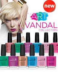 Gel Nails - CND ART VANDAL NEW SHADES COLLECTION