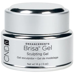 Gel Nails - CND Brisa Sculpting Gels Clear .5 Oz.