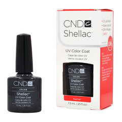 Gel Nails - CND Shellac  ASPHALT