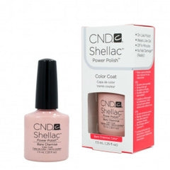 Gel Nails - CND Shellac Bare Chemise